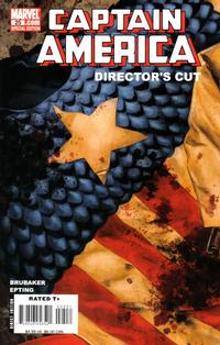 Cover Thumbnail for Captain America (Marvel, 2005 series) #25 Director's Cut [Direct Edition]