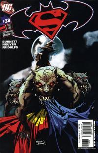 Cover Thumbnail for Superman / Batman (DC, 2003 series) #38 [Nguyen and Fridolfs]