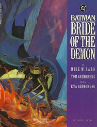 Cover Thumbnail for Batman: Bride of the Demon (DC, 1992 series)