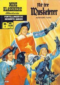 Cover Thumbnail for Mine Klassikere [Classics Illustrated] (Atlantic Forlag, 1987 series) #5 - De tre musketerer