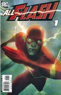 Cover Thumbnail for All Flash (DC, 2007 series) #1 [Josh Middleton Variant]