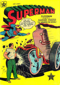 Cover Thumbnail for Supermán (Editorial Novaro, 1952 series) #1