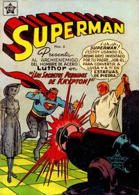 Cover Thumbnail for Supermán (Editorial Novaro, 1952 series) #2
