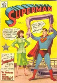 Cover Thumbnail for Supermán (Editorial Novaro, 1952 series) #4