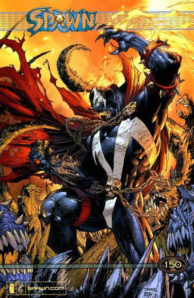 Cover for Spawn (Image, 1992 series) #150 [Cover by Todd McFarlane]