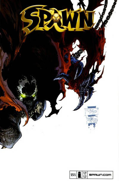 Cover for Spawn (Image, 1992 series) #151