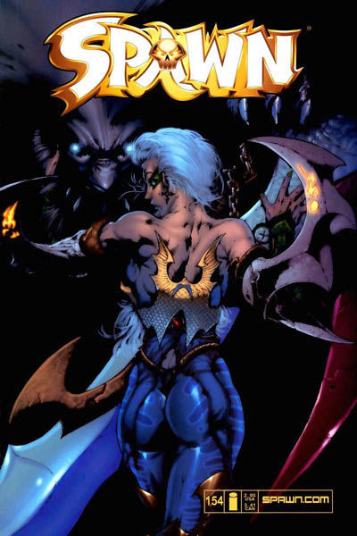 Cover for Spawn (Image, 1992 series) #154