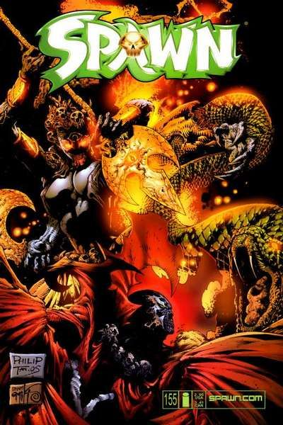 Cover for Spawn (Image, 1992 series) #155