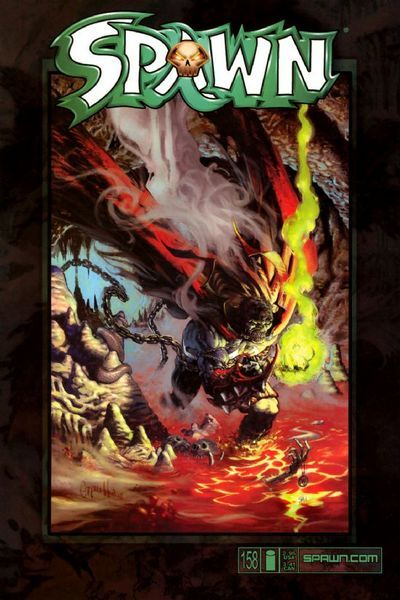 Cover for Spawn (Image, 1992 series) #158