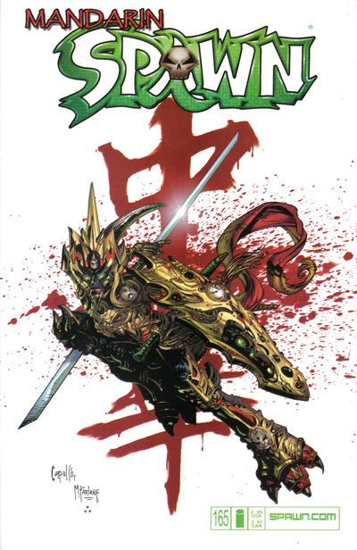 Cover for Spawn (Image, 1992 series) #165