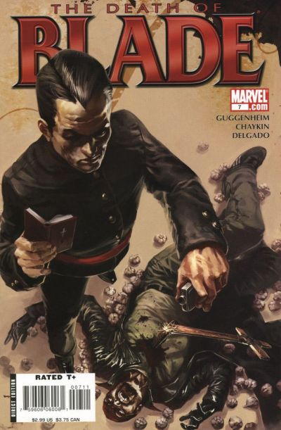 Cover for Blade (Marvel, 2006 series) #7 [Direct Edition]