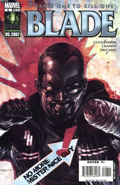 Cover for Blade (Marvel, 2006 series) #8 [Direct Edition]