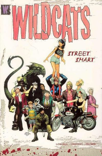 Cover for Wildcats (DC, 2000 series) #[1] - Street Smart