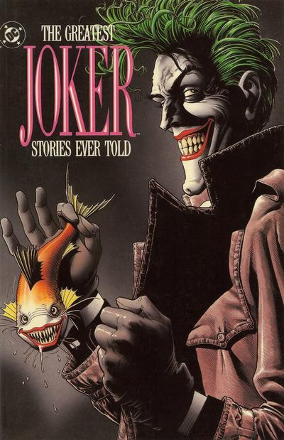Cover for The Greatest Joker Stories Ever Told (DC, 1989 series)