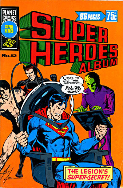 Cover for Super Heroes Album (K. G. Murray, 1976 series) #12