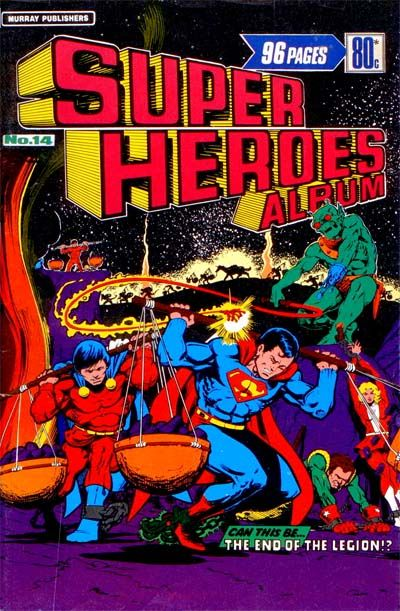 Cover for Super Heroes Album (K. G. Murray, 1976 series) #14