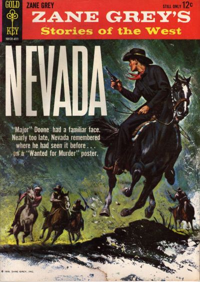 Cover for Zane Grey's Stories of the West, Nevada (Western, 1964 series) #1