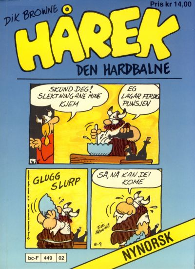 Cover for Hårek den hardbalne pocket (Allers Forlag, 1985 series) #101