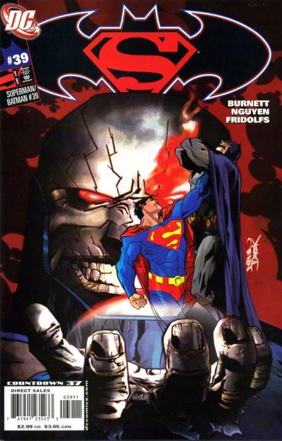Cover for Superman / Batman (DC, 2003 series) #39