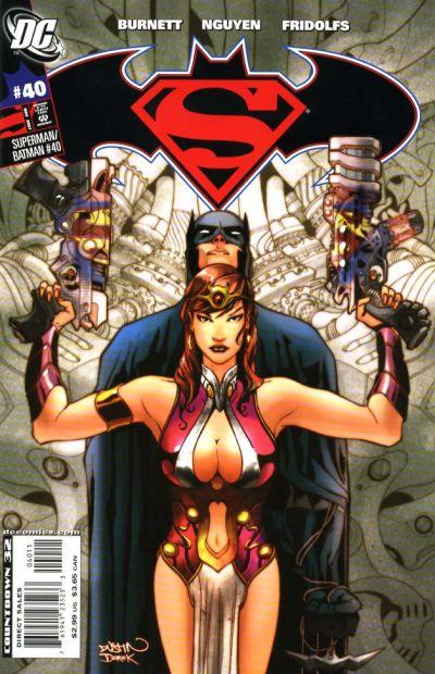 Cover for Superman / Batman (DC, 2003 series) #40