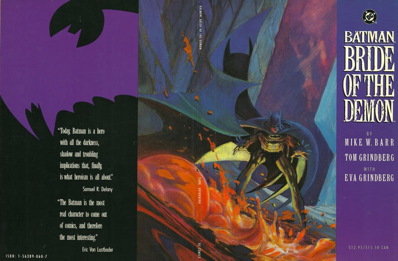 Cover for Batman: Bride of the Demon (DC, 1992 series)