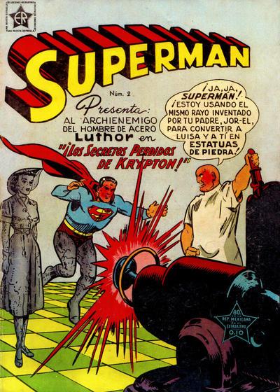 Cover for Supermán (Editorial Novaro, 1952 series) #2