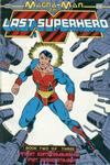 Cover for Magna-Man: The Last Superhero (Fictioneer Books, Ltd., 1988 series) #2