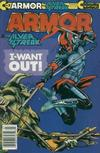 Cover for Armor (Continuity, 1985 series) #3 [Newsstand Edition]
