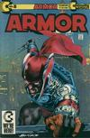 Cover for Armor (Continuity, 1985 series) #8 [Direct Edition]