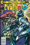 Cover for CyberRad (Continuity, 1991 series) #3 [Newsstand Edition]