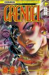 Cover for Grendel (Comico, 1986 series) #1 [Direct]