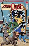 Cover for Jonny Quest (Comico, 1986 series) #2 [Direct Edition]