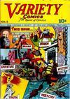 Cover for Variety Comics (Croydon Publishing Co., 1944 series) #1