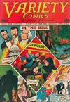 Cover for Variety Comics (Croydon Publishing Co., 1944 series) #2