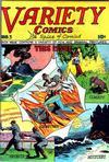 Cover for Variety Comics (Croydon Publishing Co., 1944 series) #3