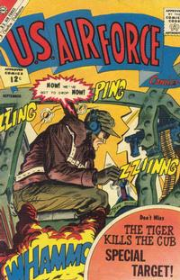 Cover Thumbnail for U.S. Air Force Comics (Charlton, 1958 series) #23 [Regular Edition]