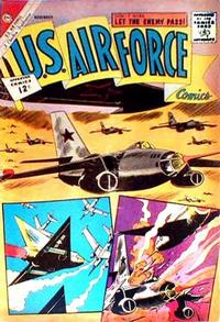 Cover for U.S. Air Force Comics (Charlton, 1958 series) #24