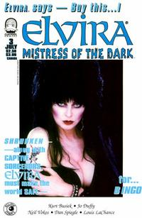 Cover Thumbnail for Elvira, Mistress of the Dark (Claypool Comics, 1993 series) #3