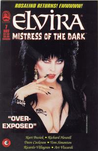 Cover Thumbnail for Elvira, Mistress of the Dark (Claypool Comics, 1993 series) #7