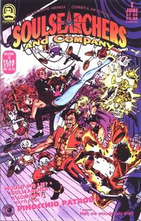 Cover Thumbnail for Soulsearchers and Company (Claypool Comics, 1993 series) #1