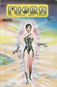 Cover Thumbnail for MICRA: Mind Controlled Remote Automaton (Fictioneer Books, Ltd., 1986 series) #1