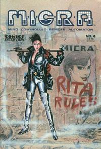 Cover Thumbnail for MICRA: Mind Controlled Remote Automaton (Fictioneer Books, Ltd., 1986 series) #4