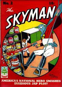 Cover Thumbnail for Skyman (Columbia, 1941 series) #2