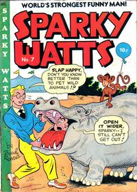 Cover Thumbnail for Sparky Watts (Columbia, 1942 series) #7
