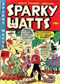Cover Thumbnail for Sparky Watts (Columbia, 1942 series) #8