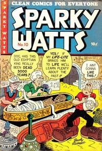 Cover Thumbnail for Sparky Watts (Columbia, 1942 series) #10