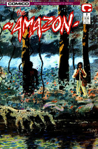 Cover Thumbnail for The Amazon (Comico, 1989 series) #2