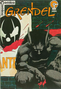 Cover Thumbnail for Grendel (Comico, 1983 series) #2