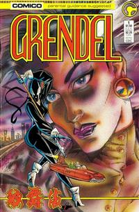 Cover Thumbnail for Grendel (Comico, 1986 series) #1 [Direct]