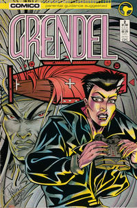 Cover Thumbnail for Grendel (Comico, 1986 series) #2 [Direct]
